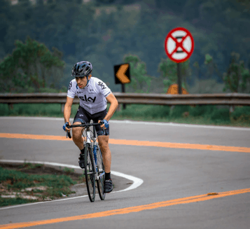Cycling alone tips